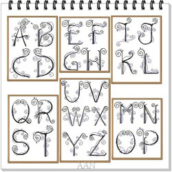 Borduurpatroon My Alphabet - Alessandra Adelaide