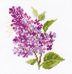 Borduurpakket Sprig of lilac - Alisa