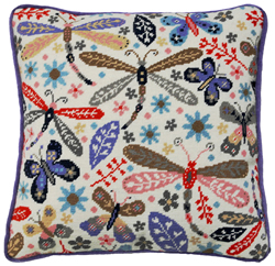 Borduurpakket Suzy Taylor - Dragonfly - Bothy Threads