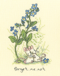 Borduurpakket Anita Jeram - Forget me not - Bothy Threads