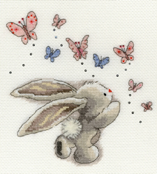 Borduurpakket Bebunni - Butterflies - Bothy Threads