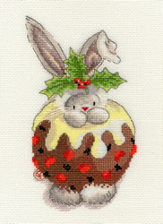 Borduurpakket Bebunni - Christmas Pudding - Bothy Threads