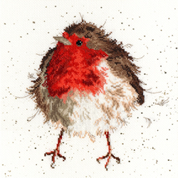 Borduurpakket Hannah Dale - Jolly Robin - Bothy Threads