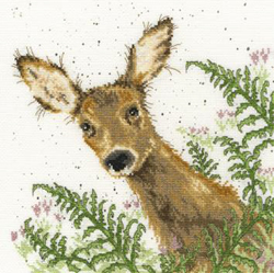 Borduurpakket Hannah Dale - Doe A Deer - Bothy Threads