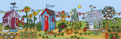 Borduurpakket Fun! - Allotment Fun - Bothy Threads