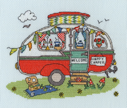 Borduurpakket Sew Dinky - Caravan - Bothy Threads