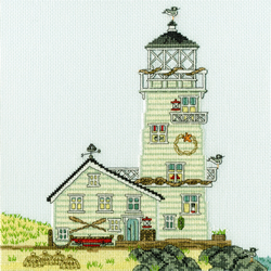 Borduurpakket Sally Swannell - New England: The Lighthouse - Bothy Threads