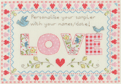 Borduurpakket Samplers - Love Sampler - Bothy Threads