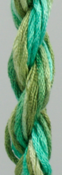 Waterlilies Spearmint - The Caron Collection