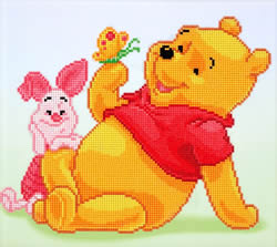 Disney Pooh with Piglet - Camelot Dotz
