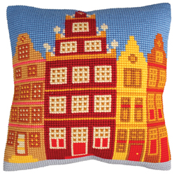 Kussenpakket Houses - Collection d'Art