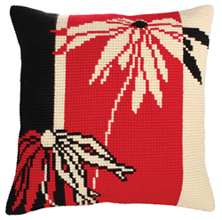 Kussenpakket Red and Black - Collection d'Art