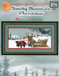 Borduurpatroon Smoky Mountain Christmas - Cross My Heart
