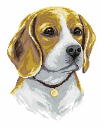 Diamond Painting Beagle - Freyja Crystal