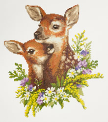 Diamond Painting Fawns - Freyja Crystal