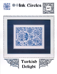 Borduurpatroon Turkish Delight - Ink Circles
