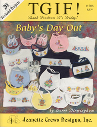 Borduurpatroon Baby's Day Out - Jeanette Crews Designs