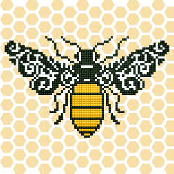 Diamond Art Bee - Leisure Arts