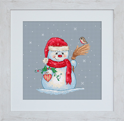 Borduurpakket Snow Man - Luca-S