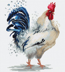 Borduurpakket The Rooster - Luca-S