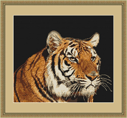 Petit Point Borduurpakket Tiger - Luca-S