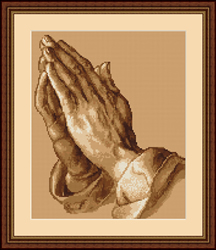 Petit Point Borduurpakket Praying Hands - Luca-S