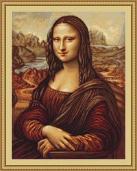 Petit Point Borduurpakket Mona Lisa - Luca-S