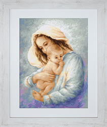 Petit Point Borduurpakket Mother and Child - Luca-S