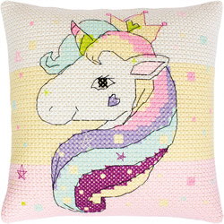 Borduurpakket Pillow Unicorn - Luca-S