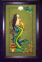 Borduurpatroon Mermaid of Atlantis - Mirabilia Designs