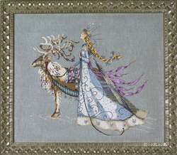 Borduurpatroon The Snow Queen - Mirabilia Designs