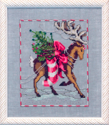 Borduurpatroon Prancer - Mirabilia Designs