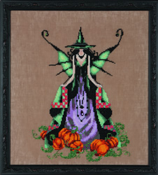 Borduurpatroon Bewitching Collection - Luna - Mirabilia Designs