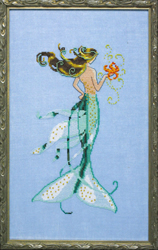 Borduurpatroon Petite Mermaid Collection - Mai Soli - Mirabilia Designs