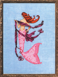 Borduurpatroon Petite Mermaid Collection - Solo Tua - Mirabilia Designs