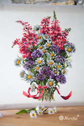 Borduurpakket The Field Bouquet - Merejka