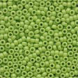 Glass Seed Beads Yellow Green - Mill Hill