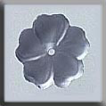 Glass Treasures 5 Petal Flower-Matte Sapphire - Mill Hill