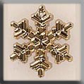 Glass Treasures Large Snowflake-Gold - Mill Hill