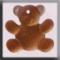Glass Treasures Teddy Bear-Brown - Mill Hill