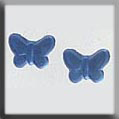 Glass Treasures Butterfly-Matte Light Sapphire (2) - Mill Hill