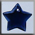 Glass Treasures Large Flat Star-Royal Blue - Mill Hill