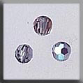 Crystal Treasures Round Bead-Black Diamond AB - Mill Hill