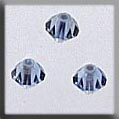 Crystal Treasures Rondele-Champagne Light Sapphire - Mill Hill