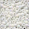 Pony Beads 6/0 White Opal - Mill Hill