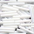 Large Bugle Beads White - Mill Hill