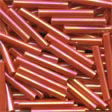 Large Bugle Beads Red Rainbow - Mill Hill
