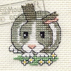 Borduurpakket Daisy Rabbit - Mouseloft