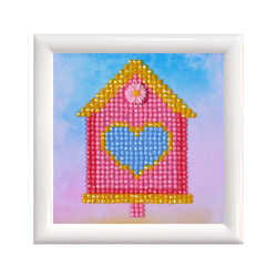 Diamond Dotz Home Sweet Home with Frame - Needleart World