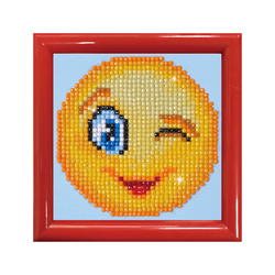 Diamond Dotz Wink Wink with Frame - Needleart World